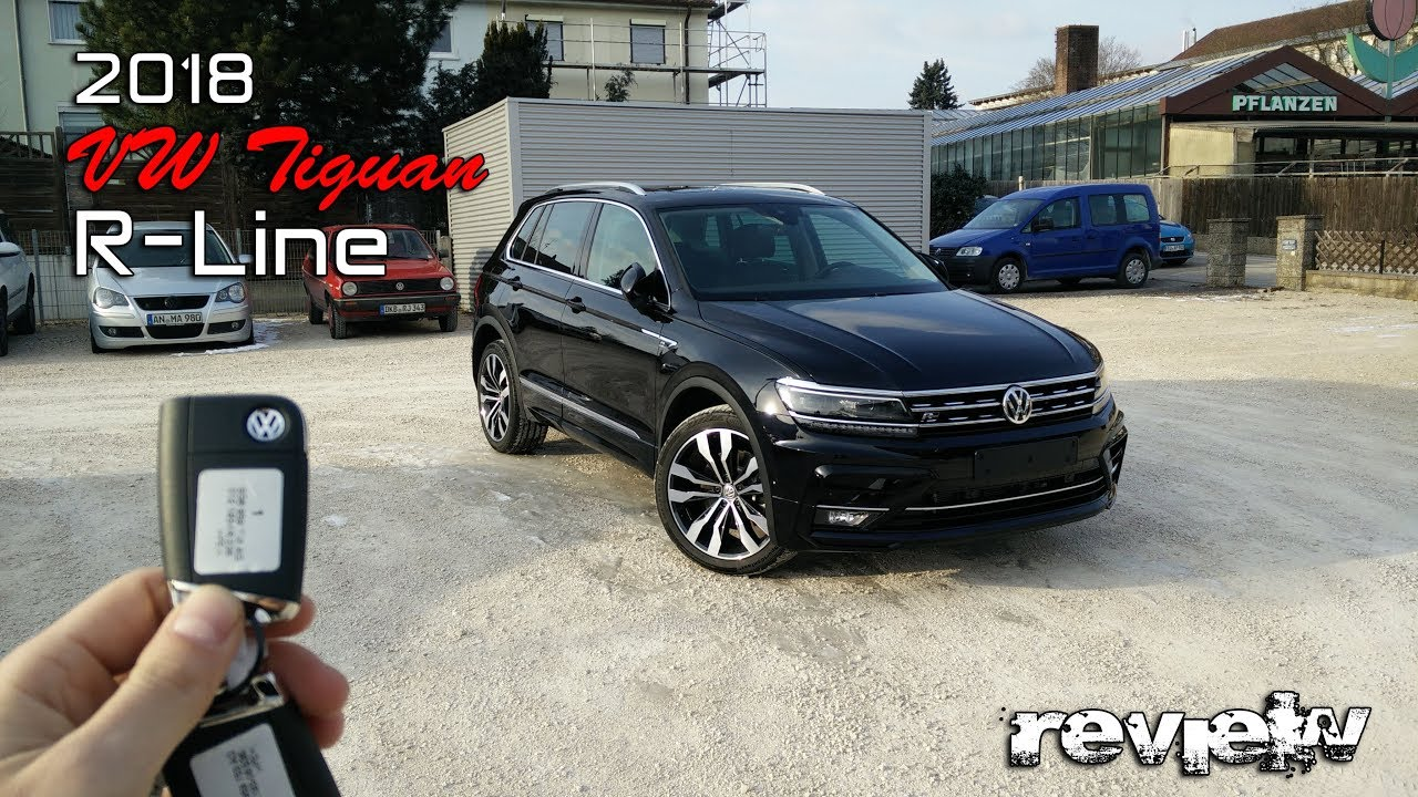 2018 vw tiguan r line deep black 2 0tsi youtube. Black Bedroom Furniture Sets. Home Design Ideas