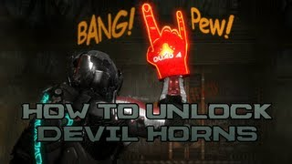 Repeat youtube video Dead Space 3 - How To Unlock Devil Horns