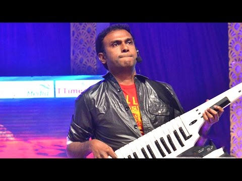 Anup Rubens Live Performance At Temper Audio Launch - Jr, Kajal Agarwal