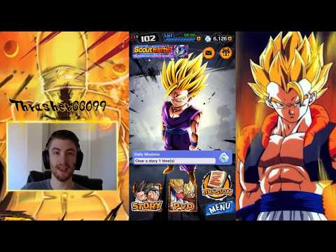 Gogeta and Janemba Hype SSJ Shallot Update Dragon Ball Legends DB DBL