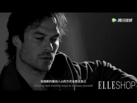 Ian Somerhalder for ELLE Shop China