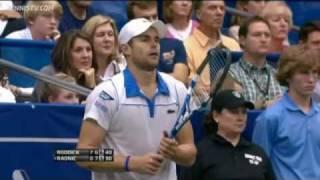 Andy Roddick's Diving Hot Shot Forehand Wins Memphis Title