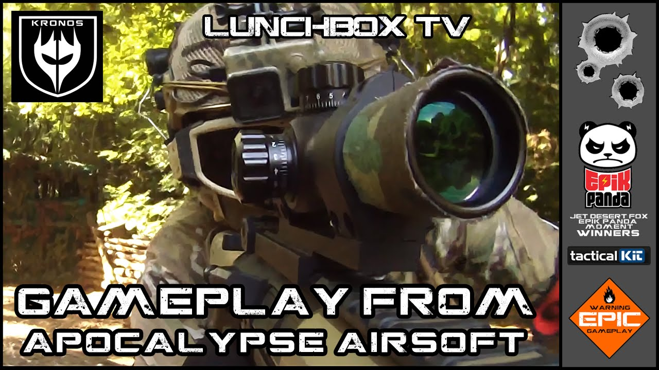 APOCALYPSE AIRSOFT GAMEPLAY WITH SYSTEMA PTW in Kent, UK. - 31-07-2015