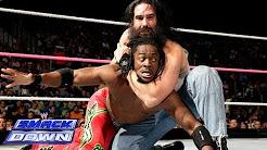 The Miz & Kofi Kingston vs. Luke Harper & Erick Rowan: SmackDown, Oct. 18, 2013