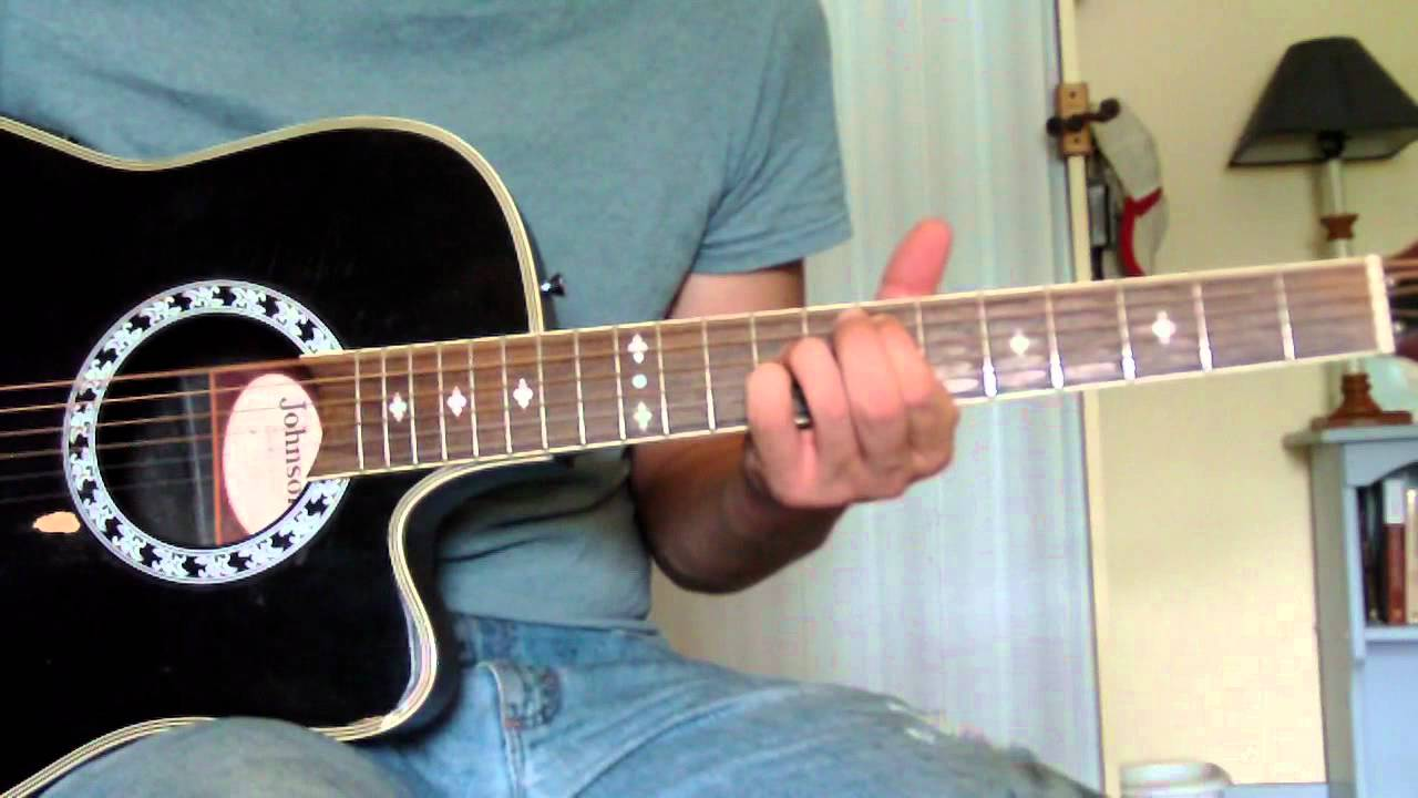 Barefoot Blue Jean Night Guitar Lesson Youtube