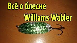 Блесна Williams Wabler. Приманка на щуку для мелководья