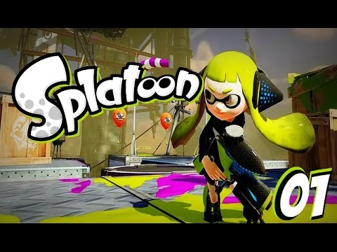 Splatoon [Modo Historia] | Cap.01 Rise of the Octocopters! [ ESPAÑOL ]