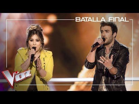 María Espinosa y Álvaro de Luna cantan 'La habitación' | Batalla final | La Voz Antena 3 2019