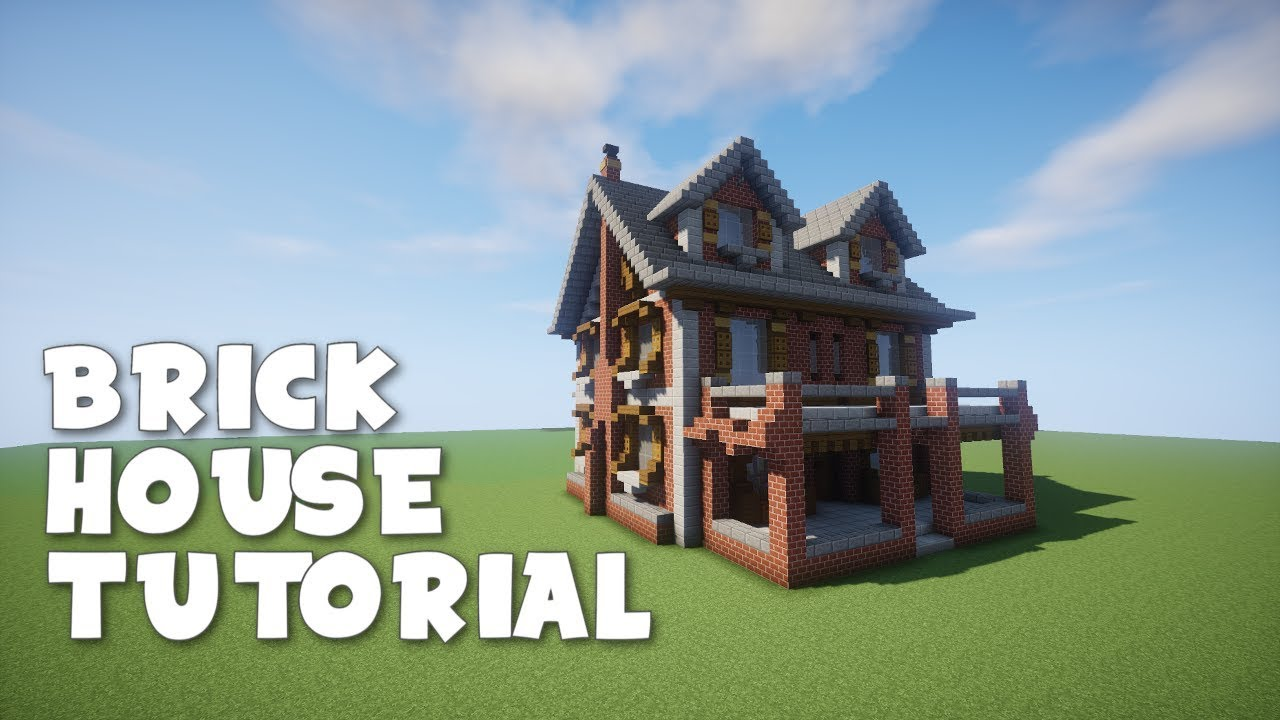 Minecraft Brick House Design Rumah Joglo Limasan Work