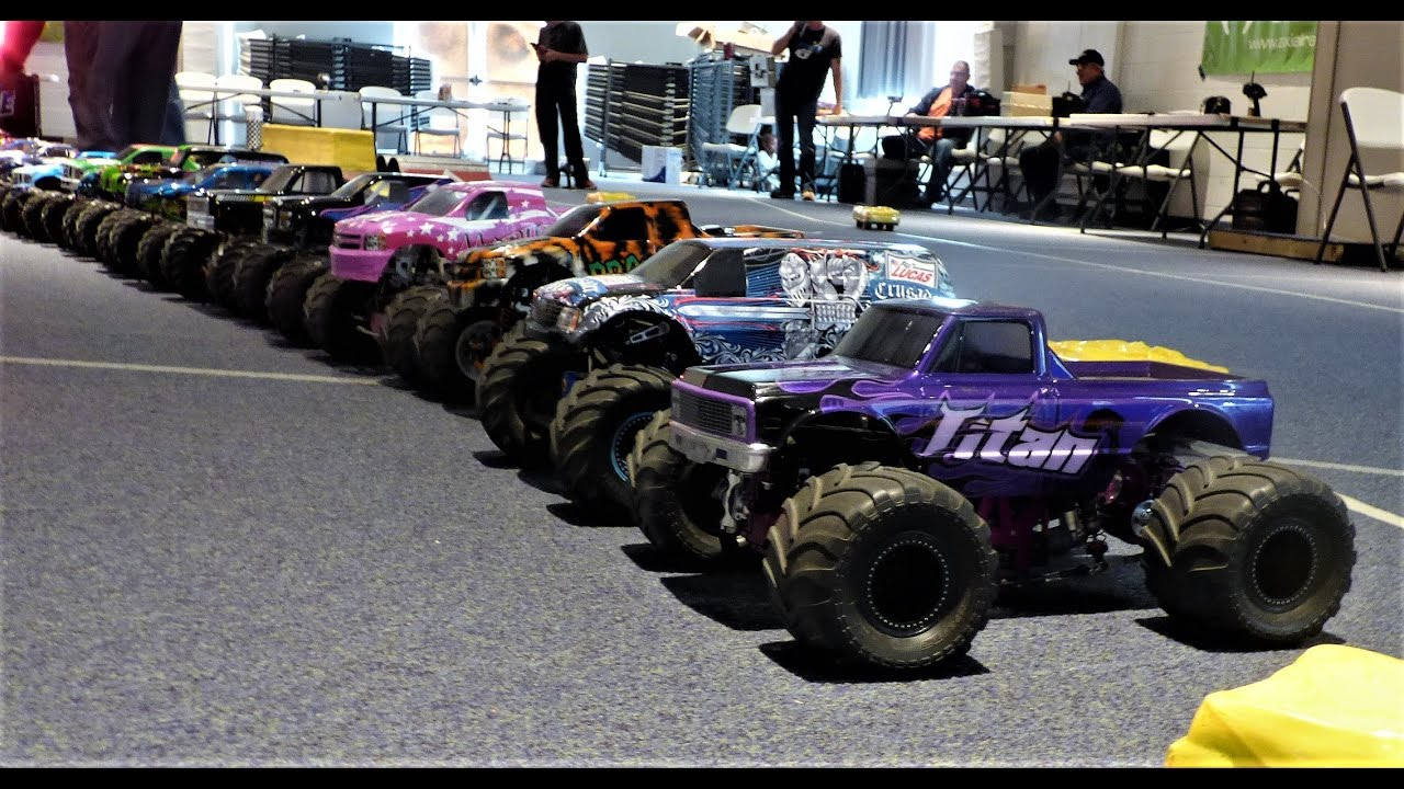 The Points Series Championships Rc Monster Truck Racing