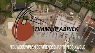 Drone video - Nieuwbouwplan: de Vriendschap te Nibbixwoud
