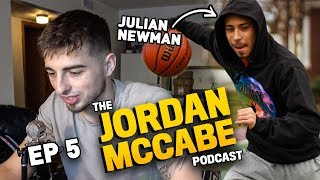 """Is Julian Newman Overrated?"" Jordan McCabe & Julian Open Up On Having HATERS & Playing OVERSEAS!?"