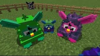 Minecraft - BURNING FURBY'S - BURN THEM TO ASHES