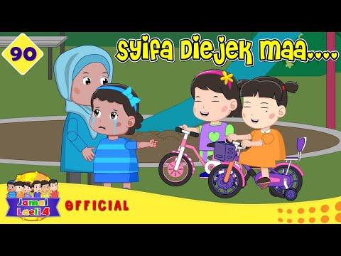 Syifa Iri Dengan Sepeda Nisa - Sepeda Baru Nisa - Jamal Laeli Series Official - Dolant Kreatif