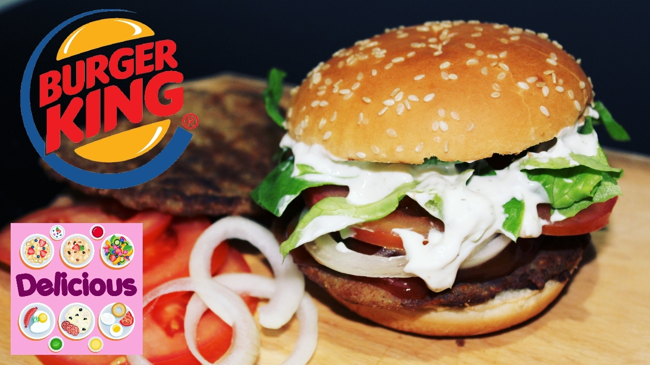 Homemade Whopper Recipe