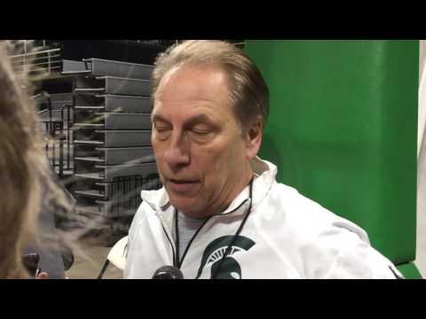 Tom Izzo recaps Michigan loss, looks ahead to Iowa