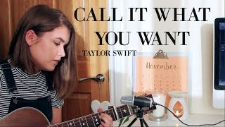 Call It What You Want - Taylor Swift / Cover by Jodie Mellor