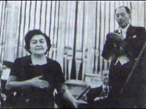Maria Grinberg plays Rachmaninoff Piano Concerto no. 3 - live 1958