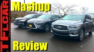 2017 Acura MDX Hybrid vs Lexus RX450h vs Infiniti QX60: What's the Best New Luxury Hybrid?