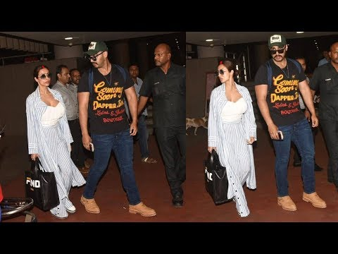 Arjun Kapoor Arrives With Wife Malaika Arora After Getting Secretly MARRIED Abroad Mp3