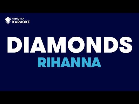 Diamonds in the style of Rihanna   Karaoke with Lyrics