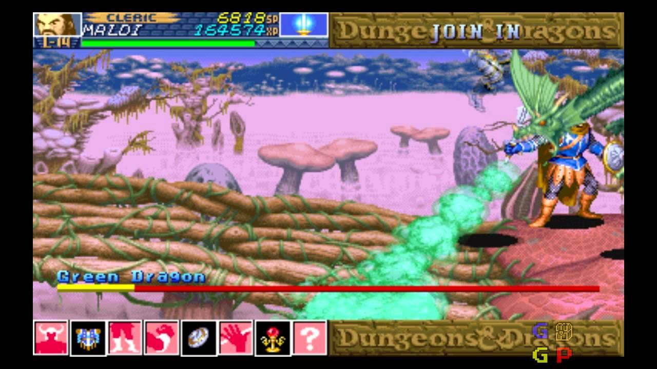D D Shadow Over Mystara Boss 5c Green Dragon Youtube
