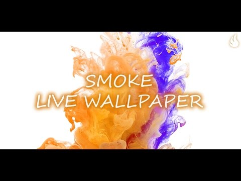 Smoke Live Wallpaper - YouTube