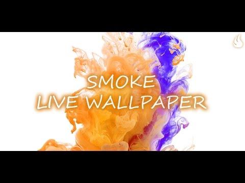 Smoke Live Wallpaper - YouTube