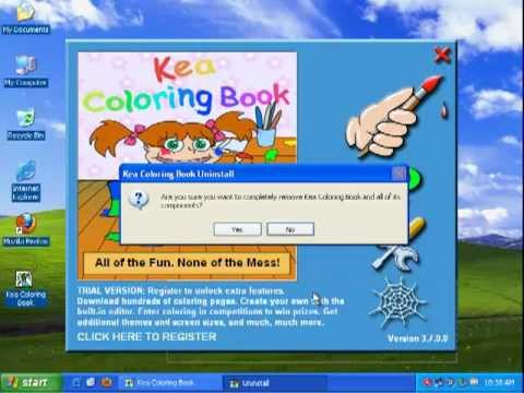 How to Uninstall Kea Coloring Book - YouTube