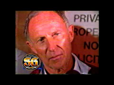 Live: LAPD Chief Daryl Gates during the 1992 Los Angeles riots