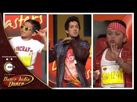 Top Funny Auditions - DID L'il Masters Season 3