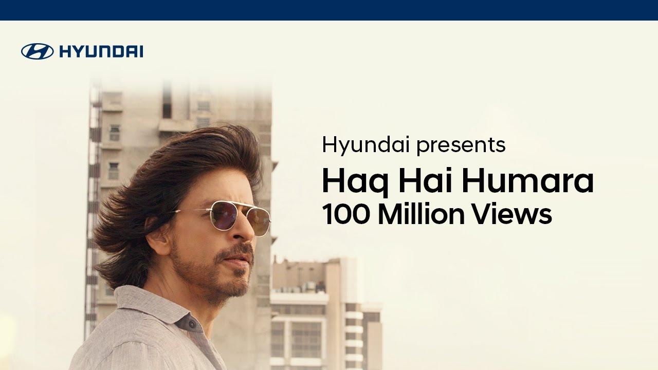 Hyundai | Haq Hai Humara by Vishal Mishra with Ft Shahrukh Khan