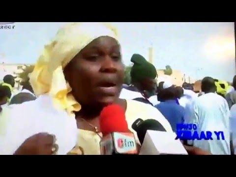 Gambian demonstration in Senegal