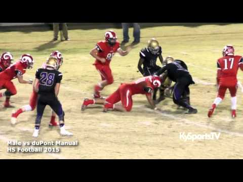 Male vs Manual - HS Football 2015
