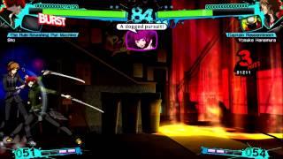 Persona 4 Arena Ultimax Arcade Mode Sho Minazuki Xbox 360