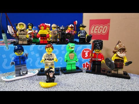 S5 Lego MiniFigures Series 5 Factory Sealed Case Unboxing 60 Packs!