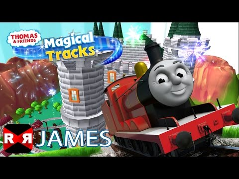 Thomas and Friends: Magical Tracks  James Complete Set Walk Around