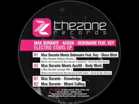 Max Durante meet Aux88 - Body Work (The-Zone Rec 002)