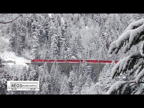 2004 WINTER classic Albula line in Winter - Old FILISUR - BEST Albula winter Film on YouTube