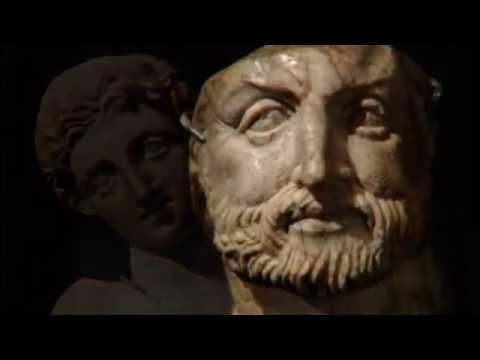 Colors of Ancient Europe - Alexander the Great and Philip II of Macedon (ivory portrait heads)