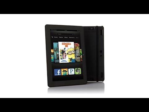 "Kindle Fire HDX 8.9"" QuadCore 16GB Tablet w/Keyboard"