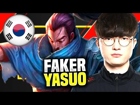FAKER IS READY TO PLAY YASUO BOT! - SKT T1 Faker Playing Yasuo Bot vs Aphelios! | SoloQ Patch 10.10