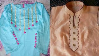 Latest Neck Design For Punjabi Suit 2019 // Neckline Design images