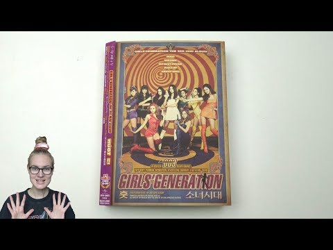 Unboxing Girls' Generation 3rd Mini Album HOOT 훗 [Japan Deluxe Limited Edition]