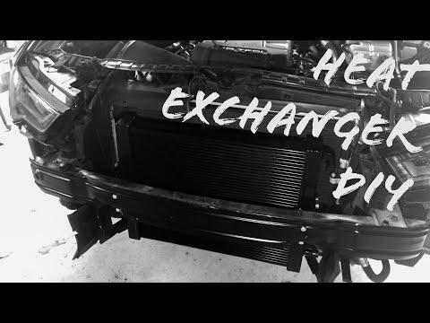 DIY: 2011-2018 C7 Audi A6 Merc Racing Heat Exchanger Install/Coolant Change
