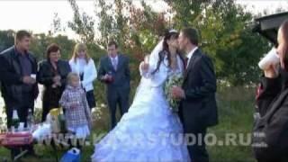 Видеосъёмка свадьбы торжества в Подольске Москве Московской области видео съёмка профессионально