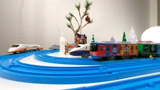 VR180 3D:  Plarail Trains from Tomica - View with Google Cardboard