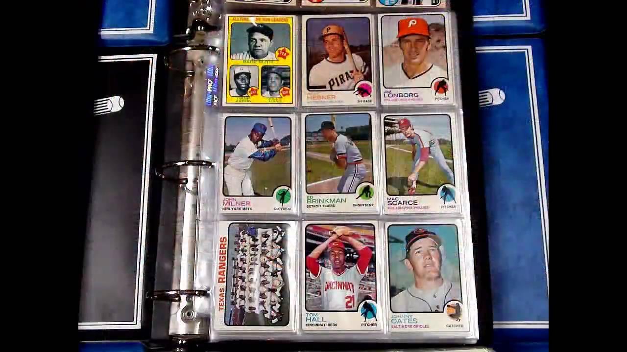 Vintage Baseball Card Sets Dave And Adams Michigan Vintage Purchase
