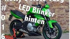 Adapterplatten Blinker Kawasaki Er6n