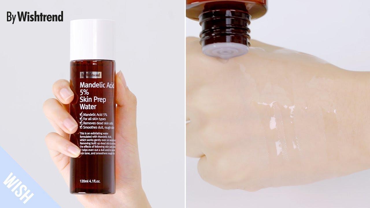 Mandelic Acid 5% Skin Prep Water - BY WISHTREND | Wishtrend